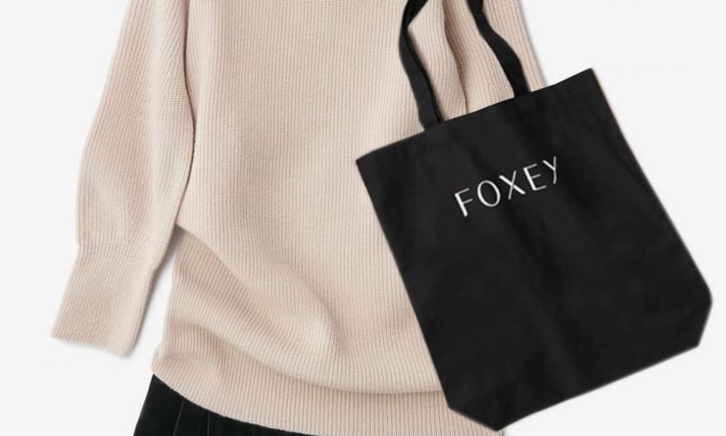 FOXEY チャリティニット