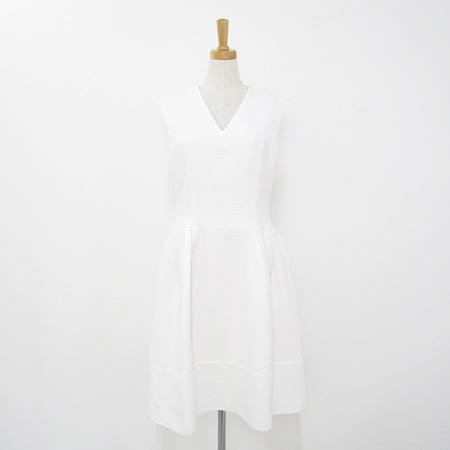 フォクシー 2018年 DM掲載品 38281 ドレス プリンセス バロン ホワイト