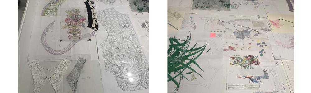 マメ展刺繍展示3