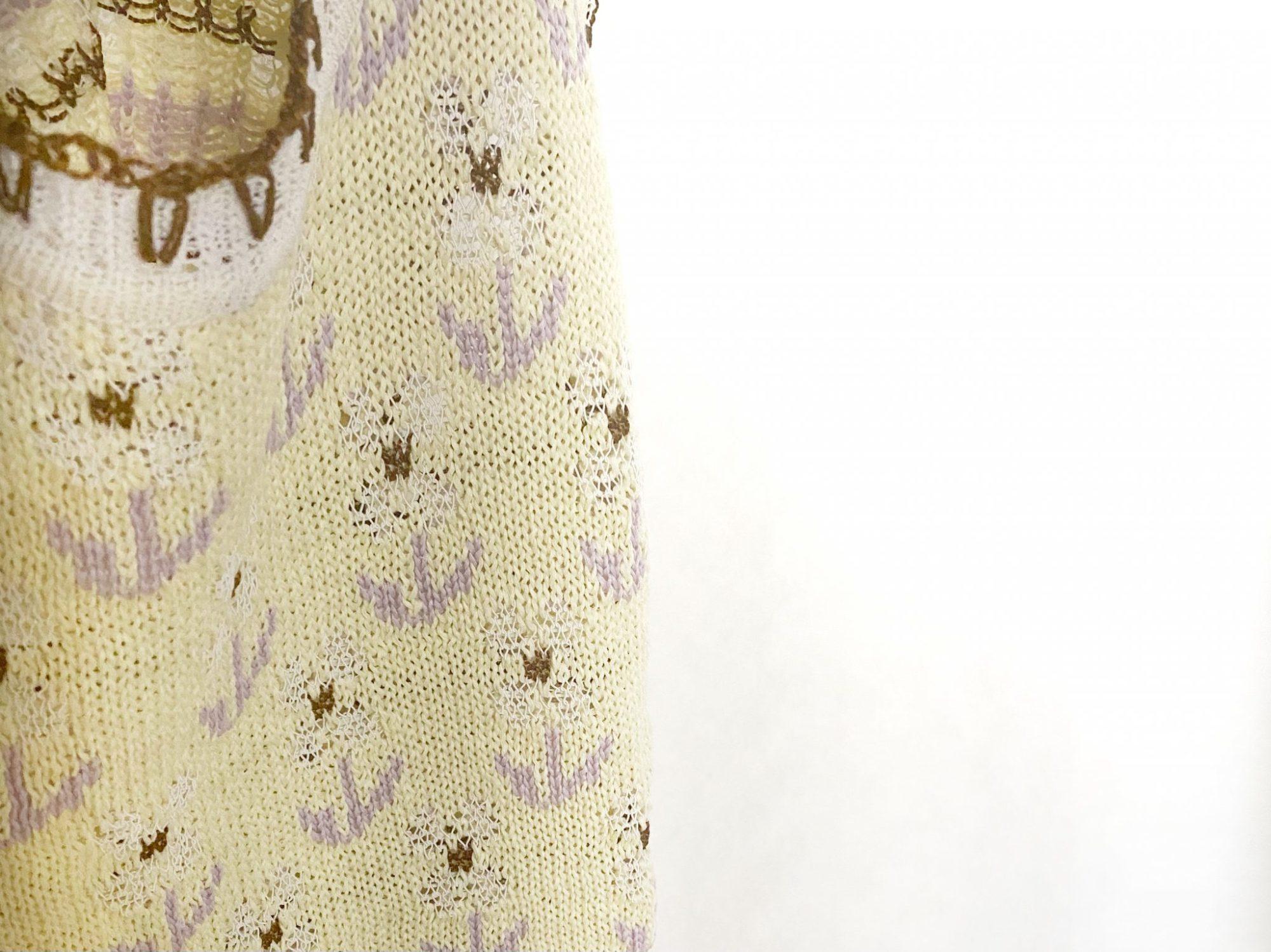 マメクロゴウチ 小花柄